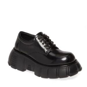 JEFFREY CAMPBELL NEW IN BOX DERBY OXFORDS